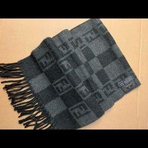 100% Authentic vintage  fendi scarf